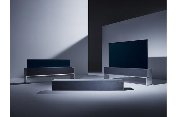 LG esitteli rullattavan television