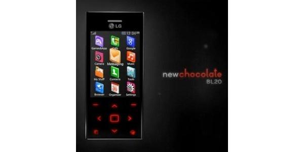 LG:n BL20-tyylipuhelimen tekniset tiedot virallisesti julkisuuteen