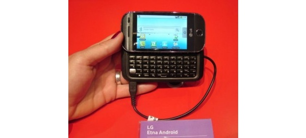 Tässä on LG:n ensimmäinen Android-puhelin