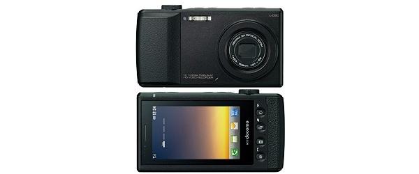 LG:n L-03C on puhelimella varustettu kamera