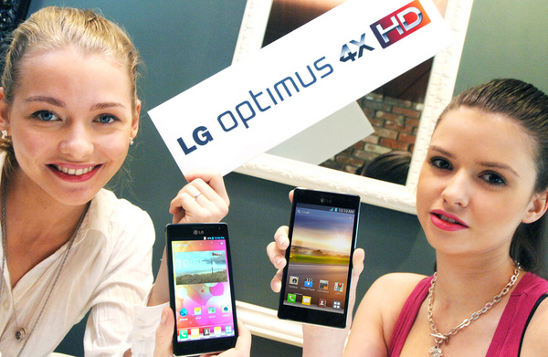 LG:ltä neliytiminen Android-superpuhelin