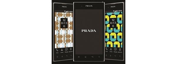 LG julkisti huippuvarustellun Prada-tyylipuhelimen