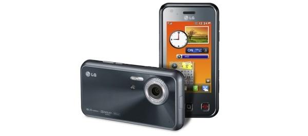 LG julkisti kahdeksan megapikselin kamerapuhelin Renoir KC910:n