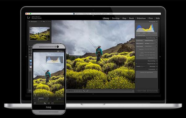 Lightroom päivittyi Androidilla – Mahdollistaa kuvaamisen DNG-muodossa