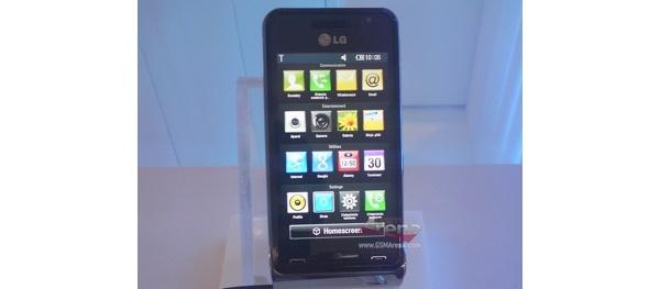 LG GC990 Louvre -huippupuhelin esiteltiin -- 12 megapikseliä ja HD-videokuvaus