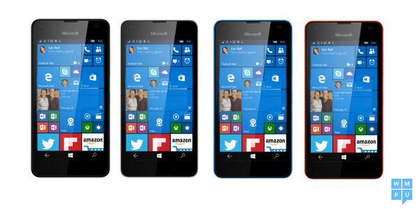 Tällainen on Microsoftin Lumia 550