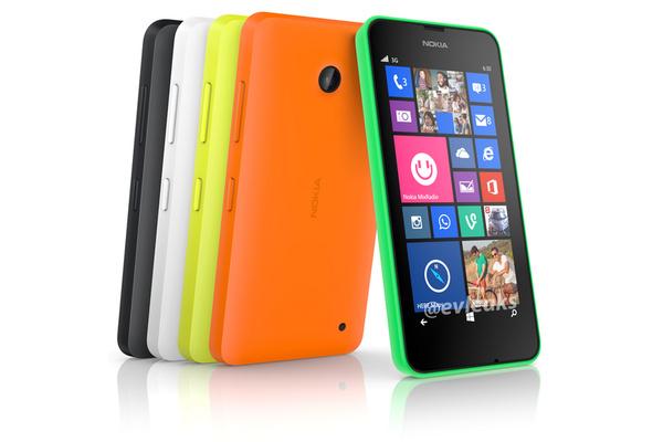 Kuvissa: Ensi kuussa julkaistava Nokia Lumia 630