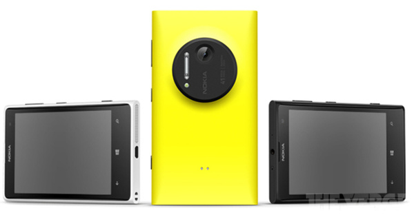 Lisää ominaisuus- ja kuvavuotoja Nokia Lumia 1020:stä