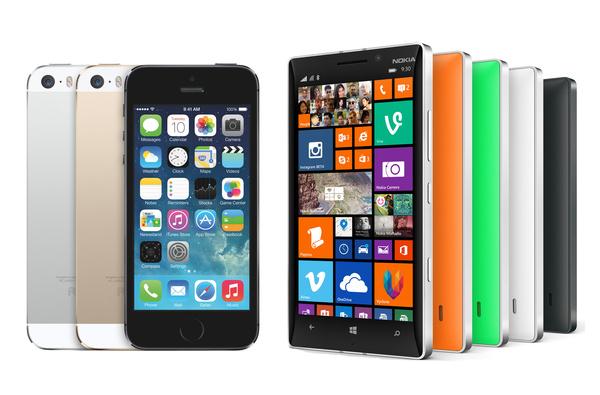 Kumpi pitäisi ostaa: Lumia 930 vai iPhone 5s?