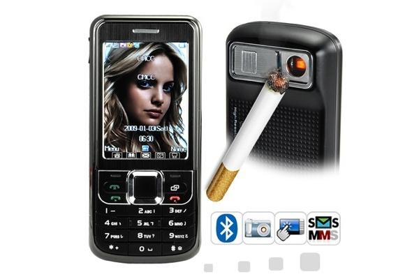Tällainen on kännykkä tupakansytyttimellä