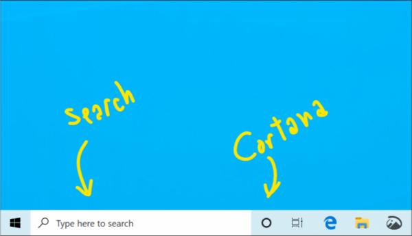 Microsoft paljasti Windows 10 -uudistuksia: Hakupalkki ja Cortana erotetaan toisistaan