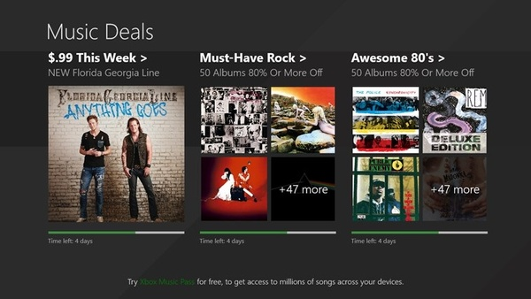 Microsoft is offering 100 albums free, including Eminem, Dr Dre, Rihanna, Kanye West, U2 and more