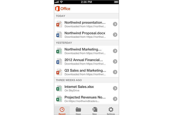 VIDEO: Microsoft Office arrives on iPhone, iPod touch