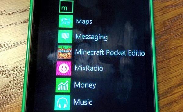 Minecraft tulossa Lumioihin: Windows Phone -versio on jo kehityksessä