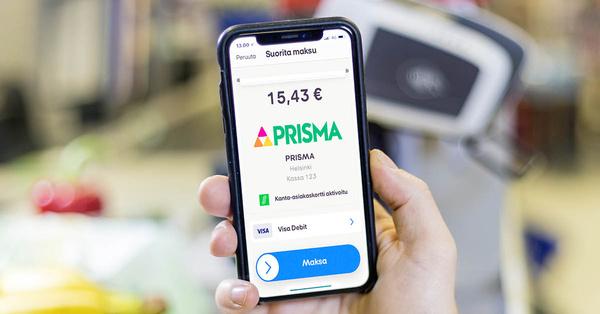 Mobilepaylla mahdollista maksaa nyt kaikissa Prismoissa
