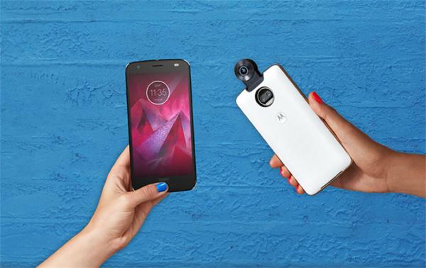 Motorolan särkymättömällä näytöllä varustettu Moto Z2 Force saapuu Suomeen