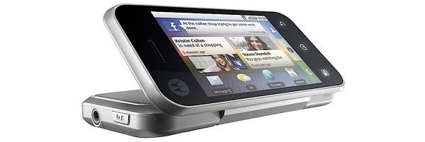 Motorolalta Backflip-puhelin erikoisella rakenteella