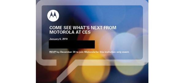 Motorolalta tulossa 2-3 uutta Android-puhelinta 6. tammikuuta