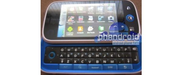 Motorolan tulevista puhelimista tietoa, mukana Google Android -puhelin