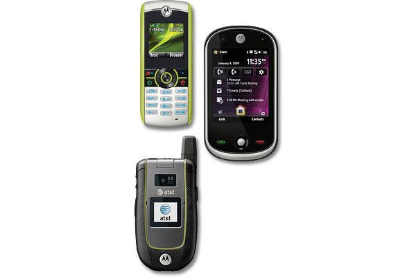 Motorolalta uusia puhelimia - mukana kosketusnäyttö- ja ympäristömallit