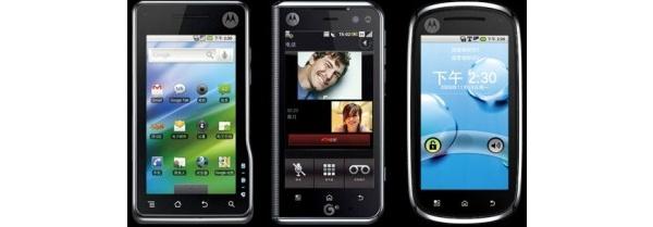 Motorolan tulevista Android-puhelimista lisätietoa Kiina-versioiden kautta