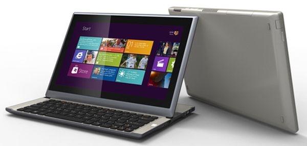 MSI paljasti liukunäytöllä varustetun Windows 8 -kannettavansa