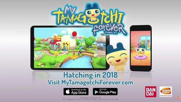 My Tamagotchi Forever is a mobile revamp of the 20 yo virtual pet