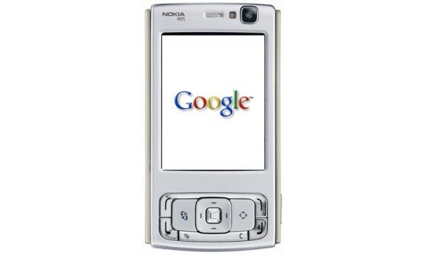 Googlen Android Nokia N95:ssä?