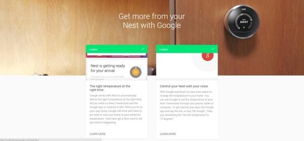 Googlen älytermostaatit uudistuivat