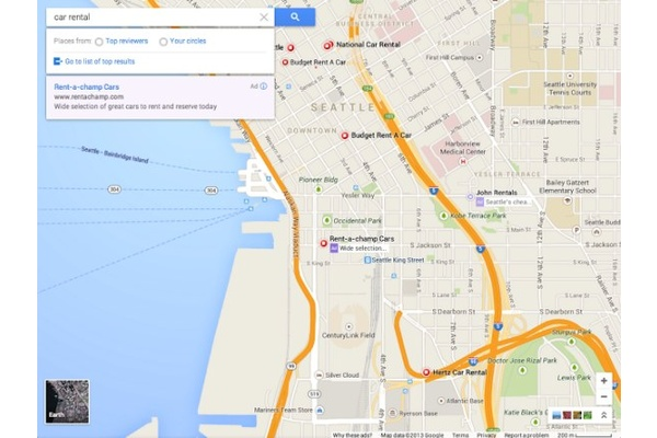 Google Maps can now be embedded in websites
