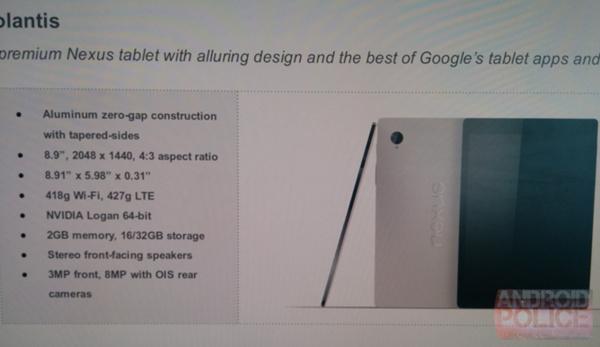 HTC tekee paluun tabletteihin: Nexus 9 esitellään pian