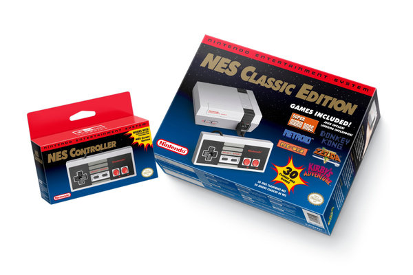 Nintendo announces mini NES Classic Edition with 30 games built-in