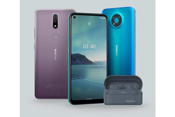 Kaksi uutta edullista Nokia-älypuhelinta: Nokia 2.4 ja Nokia 3.4