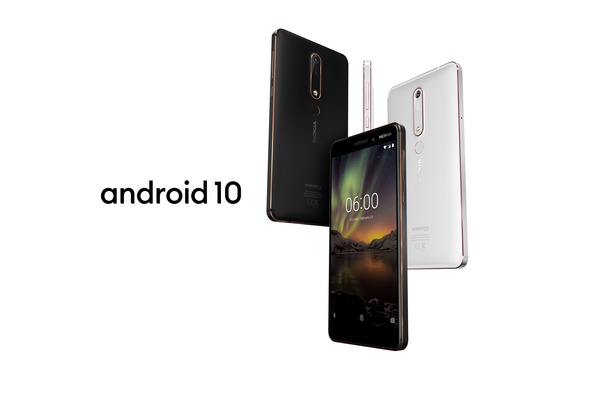 Android 10 on nyt saatavilla Nokia 6.1 puhelimelle