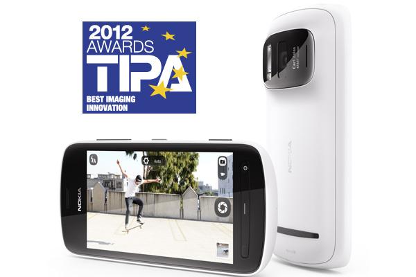 Nokian kiitetty kamerapuhelin voitti TIPA-palkinnon