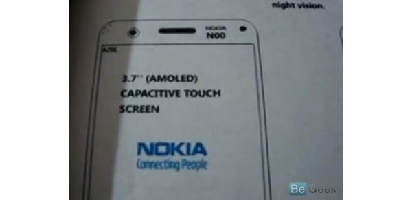 Onko tässä Nokian uusi 12 megapikselin kamerapuhelin?