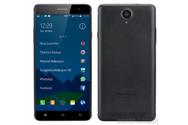 Leaked images show Android-powered Nokia A1 smartphone
