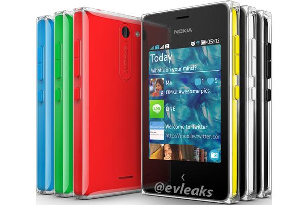 Kuvissa: Nokialta tulossa kaksi halpaa älypuhelinta