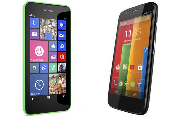 Kumpi kannattaa ostaa, Nokia Lumia 630 vai Motorola Moto G?