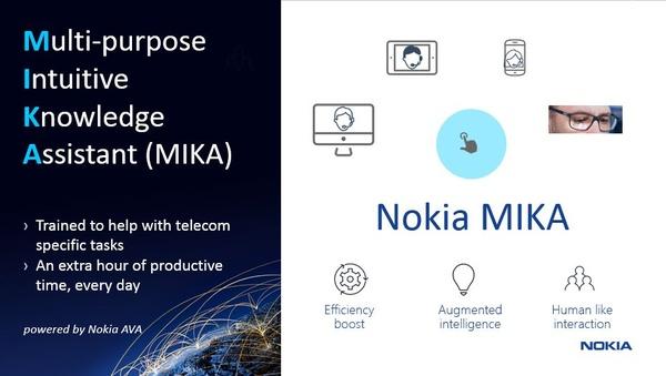Nokia julkaisi digitaalisen avustajan, MIKAn