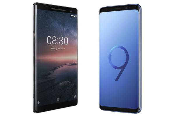 Kumpi kannattaa ostaa: Samsung Galaxy S9 vai Nokia 8 Sirocco?