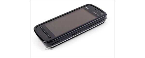 Nokialta hopeinen 5800 XpressMusic