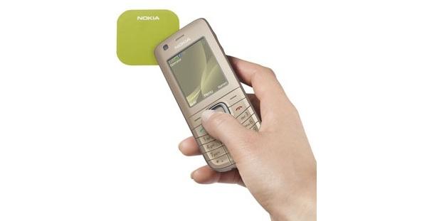 Uusi Nokia 6126 classic toimii maksuvälineenä