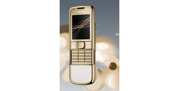 Nokialta kullattu 8800 Gold Arte