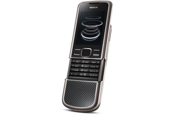 Nokia julkisti hiilikuitukuorisen 8800 Carbon Arten