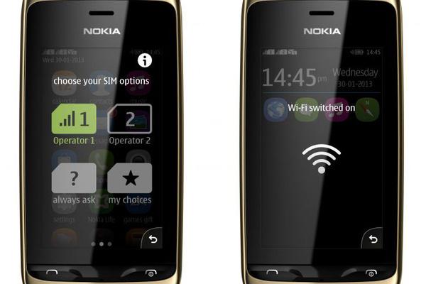 Nokia julkisti uuden kosketusnäytöllisen Asha-puhelimen
