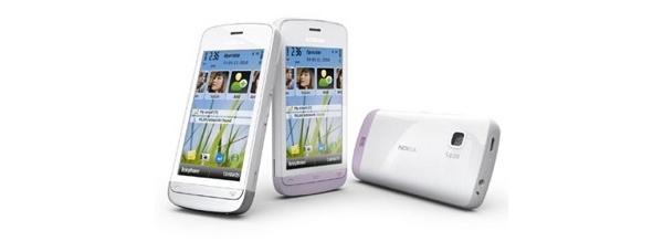 Nokia julkisti kosketusnäytöllisen C5:n