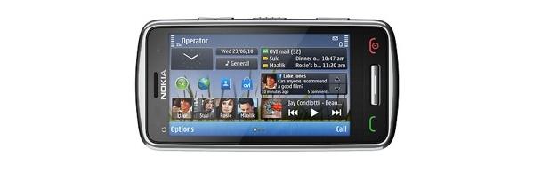 Nokia C6-01 -kosketuspuhelin lähti maailmalle