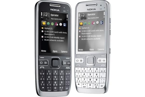 Nokian erikoisella näppiksellä varustettu E55 kaupoissa
