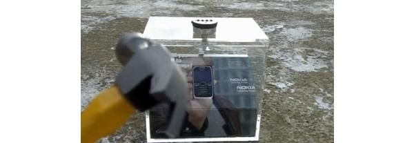 Videolla: Nokia E72 ulos laatikosta vasaran avulla
